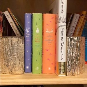 Two's Company book ends